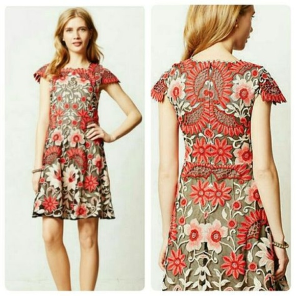 11cba4213770 Anthropologie Dresses & Skirts - Baraschi Anthropologie Crisantemo Dress